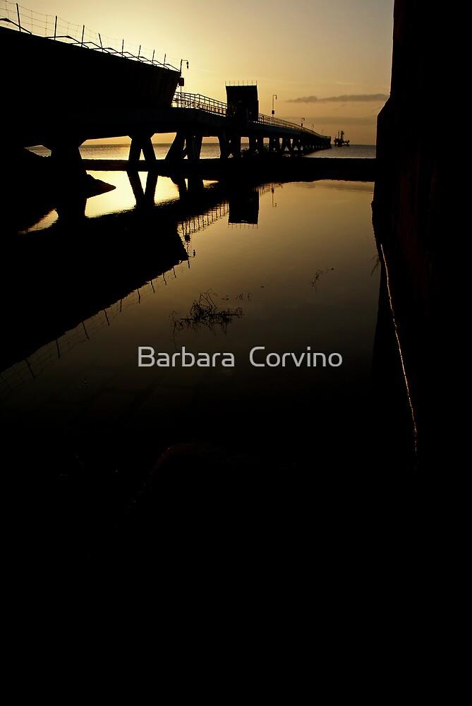 The wharf by Barbara  Corvino