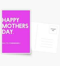 Mothers Day (GTC) Greeting Card Postcards