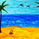 Beachy Day by Cathy Jones