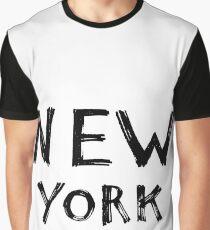 Hand drawn New York Graphic T-Shirt