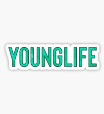 Younglife / Hipster Teenager Quote Sticker