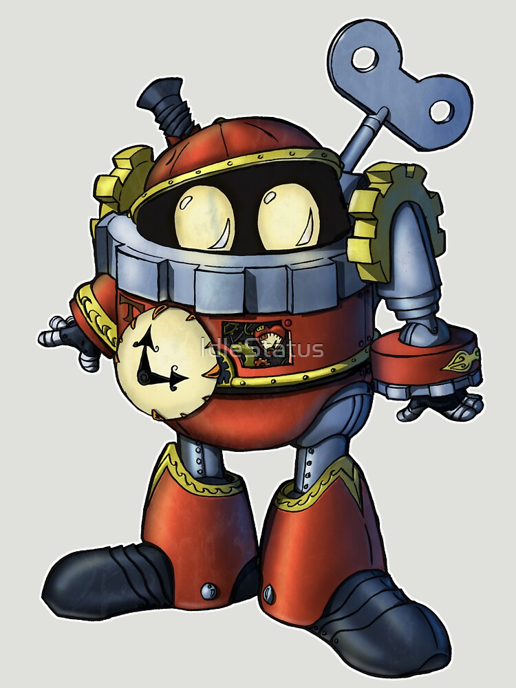 TIMIX the Clockwork Man  by IdleStatus