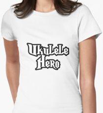 Ukulele Hero! Fitted T-Shirt