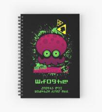 Splatoon Octoling Spiral Notebook