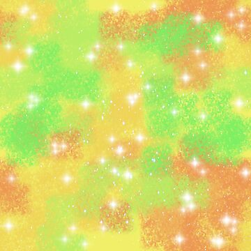 Orange Shine Galaxy pattern by LanDiMonk