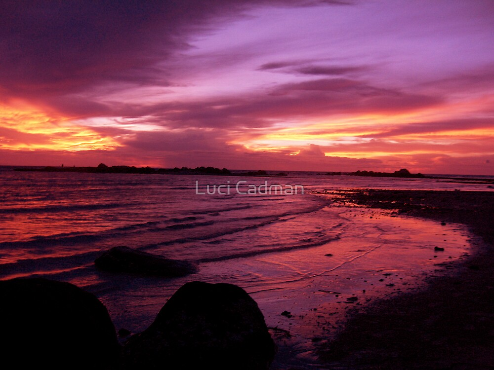Pink Sky at Night...My Delight by Luci Cadman