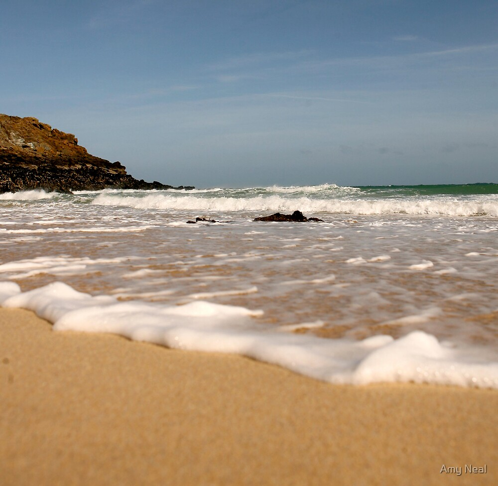 Porthgwidden Beach by Amy Neal
