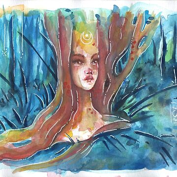 Midsummer Night Dryad by BIcicle