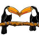 Toucan Love by Adam Regester