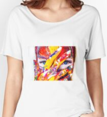 Body Paint Women's Relaxed Fit T-Shirt