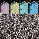 Beach Huts by Hannah Welbourn