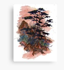 Dry Nature Canvas Print