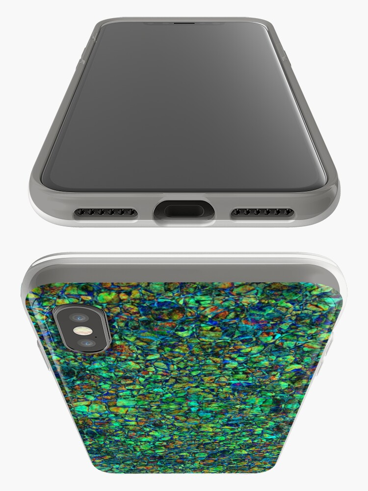 Alternate view of Pebbles #4 iPhone Case & Cover