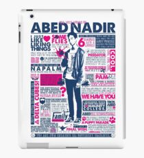 The Wise Words of Abed Nadir iPad Case/Skin