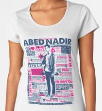The Wise Words of Abed Nadir Women's Premium T-Shirt