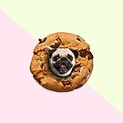 «Pug Chocolate Chips Cookie» de Lostanaw