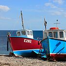 Fishing Boats by Hannah Welbourn