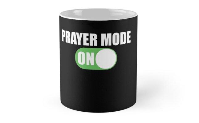 Prayer Mode On Design for Christians  by TCCPublishing