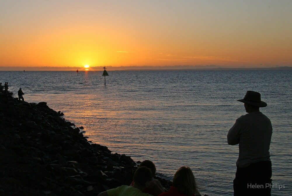 Anzac Day Sunrise by Helen Phillips