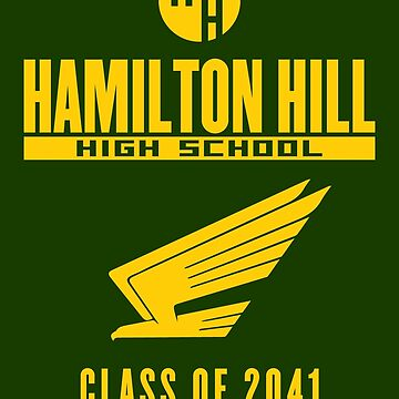 Hamilton Hill High School Class of 2041 by huckblade