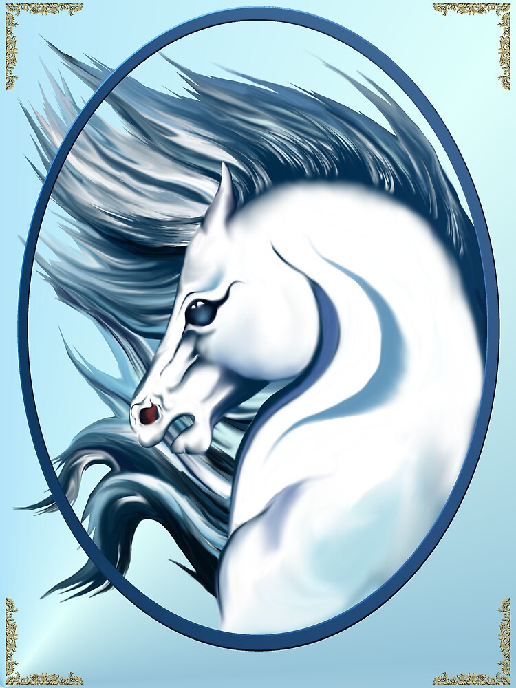 Mane Attraction in White by Lotacats