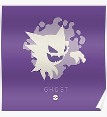 Pokemon Type - Ghost Poster