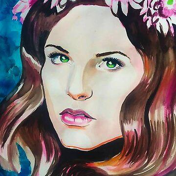 Flower girl by Jules37