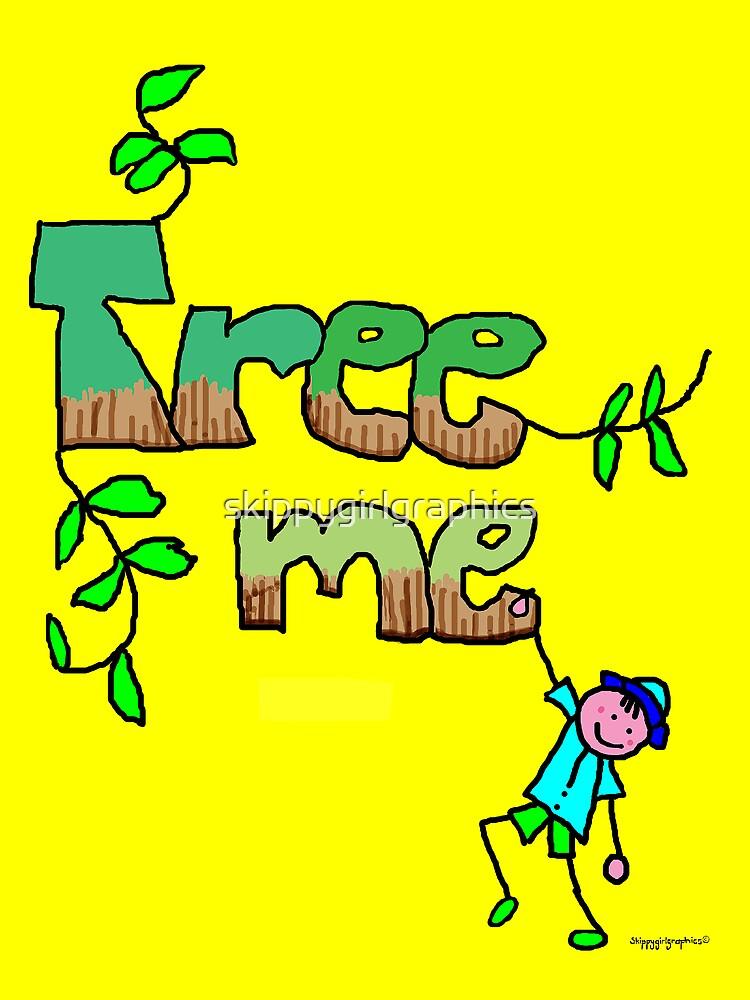 Tree me - I love trees by skippygirlgraphics