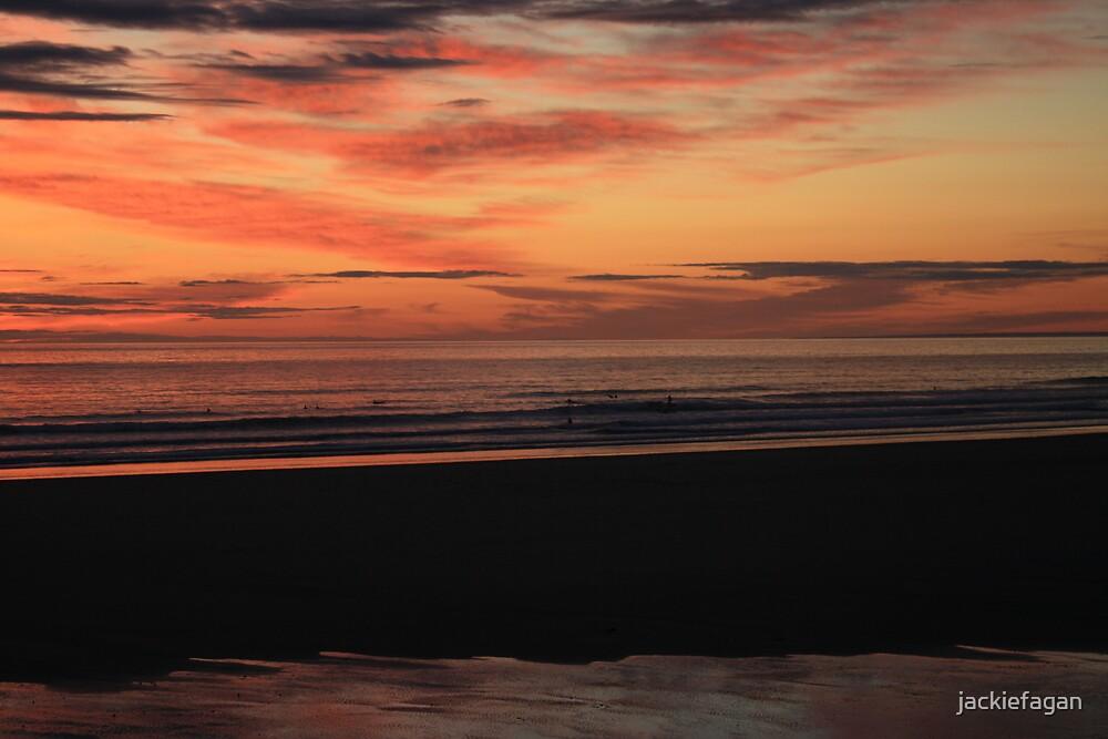 Jersey Sunset by jackiefagan