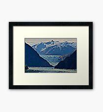 Glaciers Framed Print