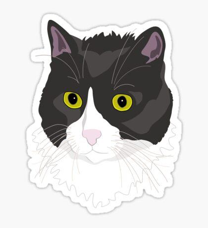 Casual Cat Sticker