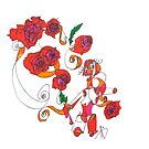 A Dream Of Roses by Express Yourself Artshop