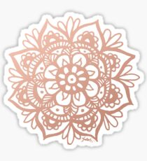 Rose Gold Mandala Sticker