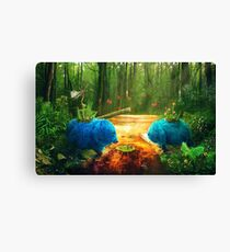 Swamp Things Canvas Print
