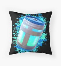 Fortnite Chug Jug Water Color Throw Pillow