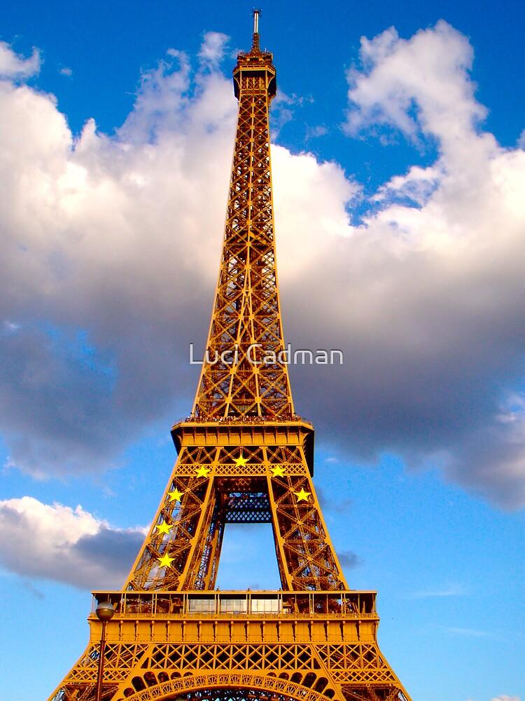 Eiffel blue by Luci Cadman