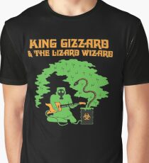 king gizzard and the lizard wizard rock band Graphic T-Shirt