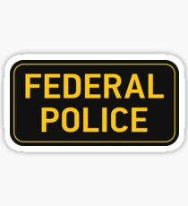 Federal Police Sticker