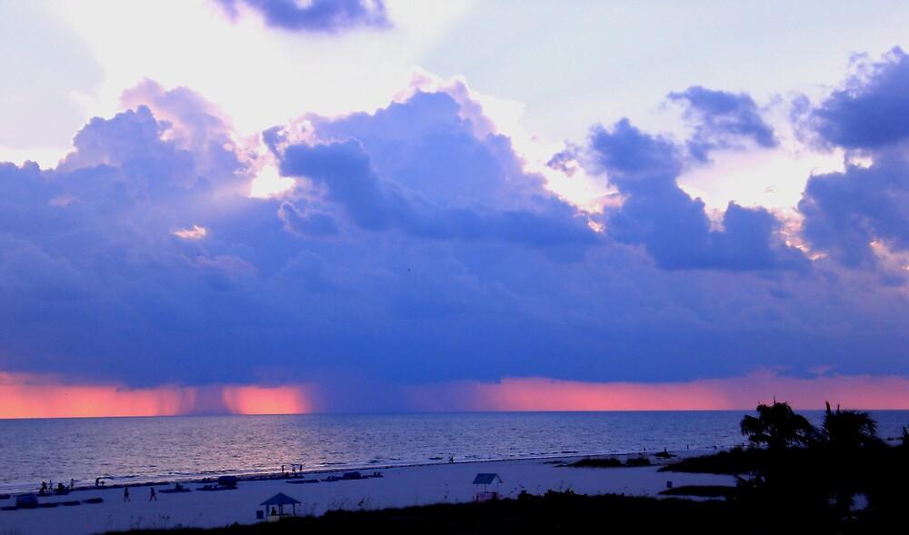 Rain Over the Ocean by introspectionx
