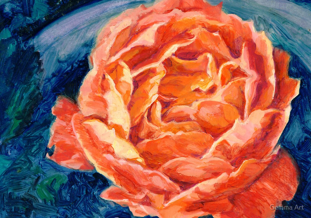 Rose Passion by Gemma Art
