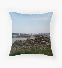 Ocean Scene Throw Pillow