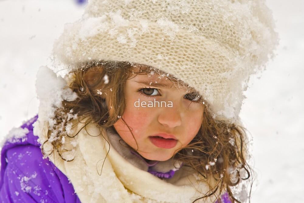 Grumpy Angel by deahna