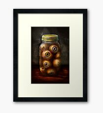 Fantasy - Creepy - I've always had eyes for you Framed Print