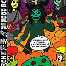 Grave Robber meets My Gal, the Zombie by CrazyGoodConner