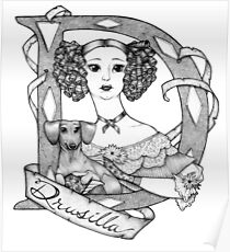 D is for Drusilla Poster