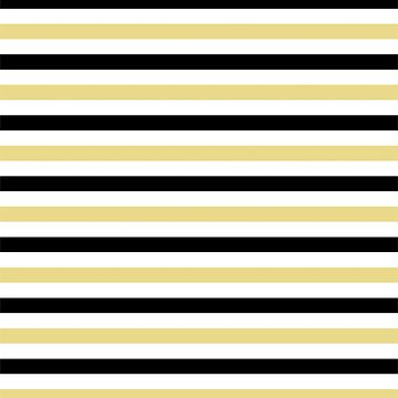 Trendy Yellow And Black Stripes Pattern by semas