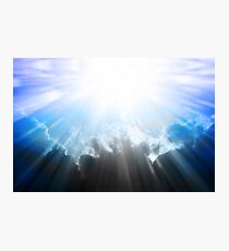 Let There Be Light Abstract Artwork Photographic Print