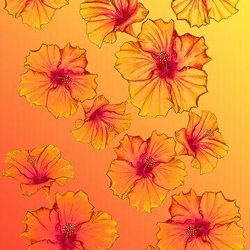 Golden Hibiscus by elee