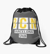 BCN - Barcelona Airport Code Souvenir or Gift Shirt Drawstring Bag