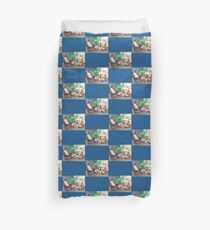 TV is Really Becoming Part of our Family! Duvet Cover